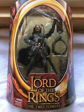 2002 Htf Lord of the Rings The Two Towers Aragorn Mint In Package Box Nice