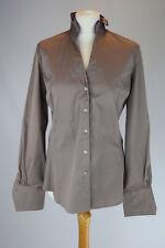 CALIBAN Grey Blouse Shirt, Large UK 16 IT 48 EU 44