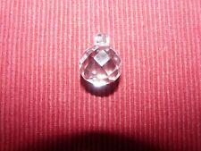 Pampille boule lustre ancien en cristal de bohème D20  424103