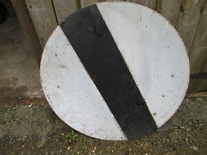 Maximum speed limit road sign 60 cm in diameter. road sign. traffic sign.