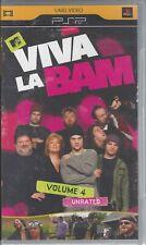 Playstation Viva La Bam, Vol. 4 (UMD, 2008) Video Movie PSP