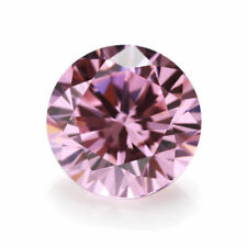 Unheated 8mm AAAAA Pink Sapphire Round Shape Faceted Cut 3.07ct VVS Loose Gems