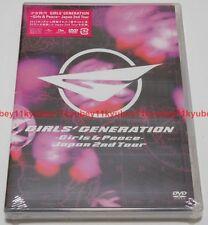 New SNSD GIRLS' GENERATION Girls & Peace Japan 2nd Tour DVD Japan UPBH-20111