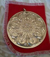 """Towle 1978 12 Days of Christmas 8 Maids Milking Sterling Silver Ornament 2.25"""""""