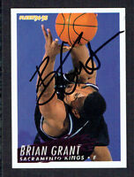 Brian Grant #363 signed autograph auto 1994-95 Fleer Basketball Trading Card
