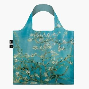 LOQI Vincent Van Gogh Almond Blossom Reusable Recyclable Tote Grocery Beach Bag