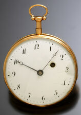ANTIQUE QUARTER HOUR REPEATER ROSE GOLD POCKET WATCH C1805 | F. WINKHAUS GERMANY