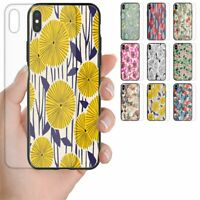 For OPPO Phone Series - Floral Theme Pattern Tempered Glass Back Phone Cover