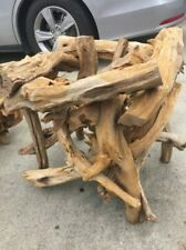 driftwood end tables