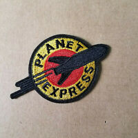 Futurama Planet Express Small Logo embroidered Patch 3 inches wide