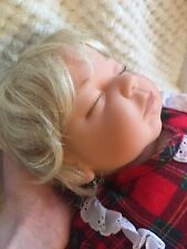 "Lee Middleton 19"" Newborn Sound Asleep Nite Nite Time Doll #353 out 600."