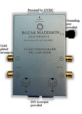 Bozak Madisson CLKPH8 Phono Preamp Preamplifier Turntable Amplifier Pre-Amp DIN