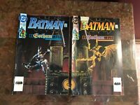 Lot of 2 Comic Books 1992 DC BATMAN #477 #478 TWO BOOK LOT GOTHAM Superhero