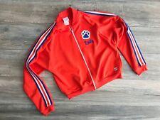 Cheerleading Company Girls Custom Warm-up Jacket with Paw Logo