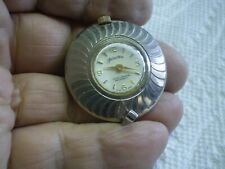 Fashiontime Womens Antique Necklace Watch Swiss Made Delaware Co. Over Wound