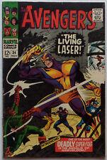 Avengers #34 (Nov 1966, Marvel), VG-FN condition, Last full Stan Lee plot/script