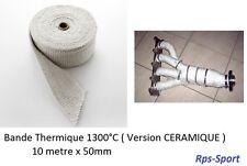 10M BANDE ISOLANT ECHAPPEMENT THERMIQUE 1300°C MORGAN FOUR FOUR