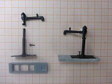 2 x Wasserkran mit schwenkbaren Arm für Dampfloks (TT) als Bausatz