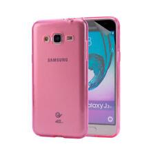 Fundas y carcasas Para Samsung Galaxy J3 color principal rosa para teléfonos móviles y PDAs