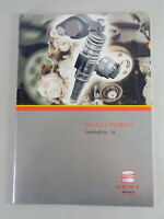 Schulungsunterlage/Technical Info 1,4 L Tdi Motor for Seat Ibiza By 10/1999