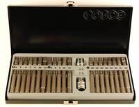 COFFRET DE 42 EMBOUTS TORX -  XZN - 6 PANS AVEC DOUILLES 1/2 et 3/8