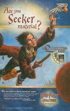 Harry Potter Quidditch Cup: Trading Card Game: Seeker: Great Photo Print Ad!