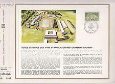 DOCUMENT CEF PREMIER JOUR  1969 ECOLE DES ARTS ET MANUFACTURES CHATENAY MALABRY