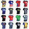 The Avengers Marvel Superhero T-shirt Short Sleeve Cycling Jersey Cosplay Tops