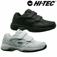 Mens HI-TEC LEATHER Touch Close Walking Running Trainers GYM Sport Casual Shoes