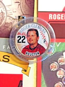 ROGER CLEMENS HOUSTON ASTROS CARDS & STATEHOOD COLORIZED TEXAS STATE QUARTER