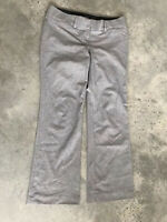 Ann Taylor LOFT Marisa Trouser Grey Womens Trousers Dress Pants A2 SZ 4P / 4 P