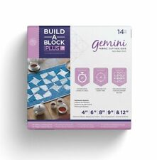 Crafters Companion Gemini Build-a-block Plus Set - Quilting Fabric Patchwork Kit