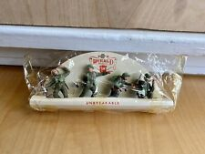 """Vintage Herald Models Plastic Soldiers """"Unbreakable"""" Made In England Pre-Owned"""
