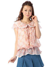 Genuine Liz Lisa Pink Sailor collar Flower pattern Top Brand New with Tags