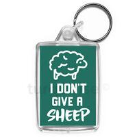 Sheep Keyring Funny Joke Gift Key Fob Keychain | Medium Size