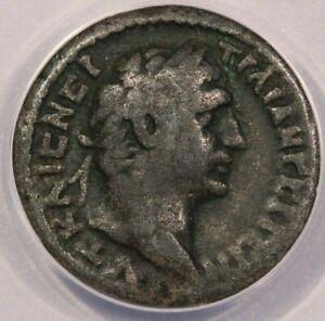 100-101 AD Roman Trajan Billion Tetradrachm Alexandria ANACS F15 B-3