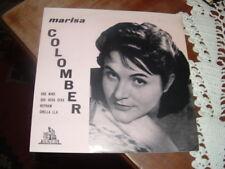 """MARISA COLOMBER """" QUE SERA' SERA' + 3 """" E.P.  ITALY'58 RARO"""