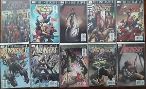 The Mighty Avengers (Lot #5) Ten NM Comics Iron Man World War Hulk Spider-Man