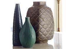 Jonathan Adler Stone  Bjorn Vase 32 x 22cm New