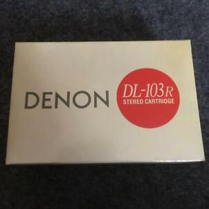 Denon MC type cartridge DL-103R nearly unused Cartridge from Japan #41