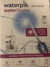 Waterpik Waterflosser In-Handle Whitening Infuser with 30 Tablets WF-06W010