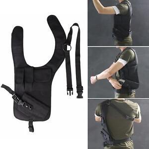 Tactical Concealed Underarm Shoulder Gun Holster Pouch Carry Bag For Pistol Gun