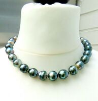 Tahiti Perlen Kette Unikat Perlen Kette Tahiti Perlen Collier 11,1-13,2 mm 4618