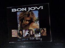 CD SINGLE - BON JOVI - THIS AIN'T A LOVE SONG