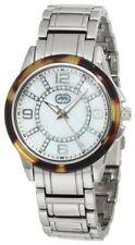 NEW Womens Marc Ecko UNLTD Watch Stainless Steel E8M101MV$85 Bling Crystal Pearl