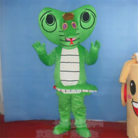 Christmas King Cobra Mascot Costume Snake Animal Suits Fancy Party Cosplay Dress