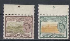 St Kitts 1954 48c and 60c MNH - see below