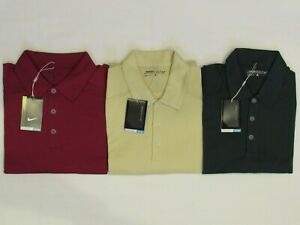 NEW MEN'S NIKE GOLF SPHERE DRY POLO SHIRT, PICK A SIZE AND COLOR, $60