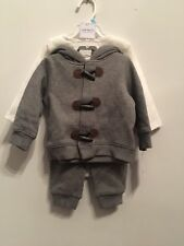 Carters 3 piece Gray and White Winter Outfit Set 6 Month
