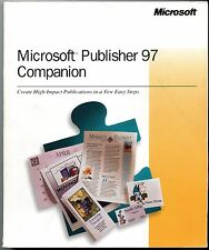 MICROSOFT PUBLISHER 97 COMPANION CREATE HIGH IMPACT PUBLICATIONS FEW EASY STEPS
